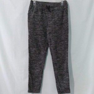 ATHLETIC WORKS Gray Space Dyed Fleece Joggers XL
